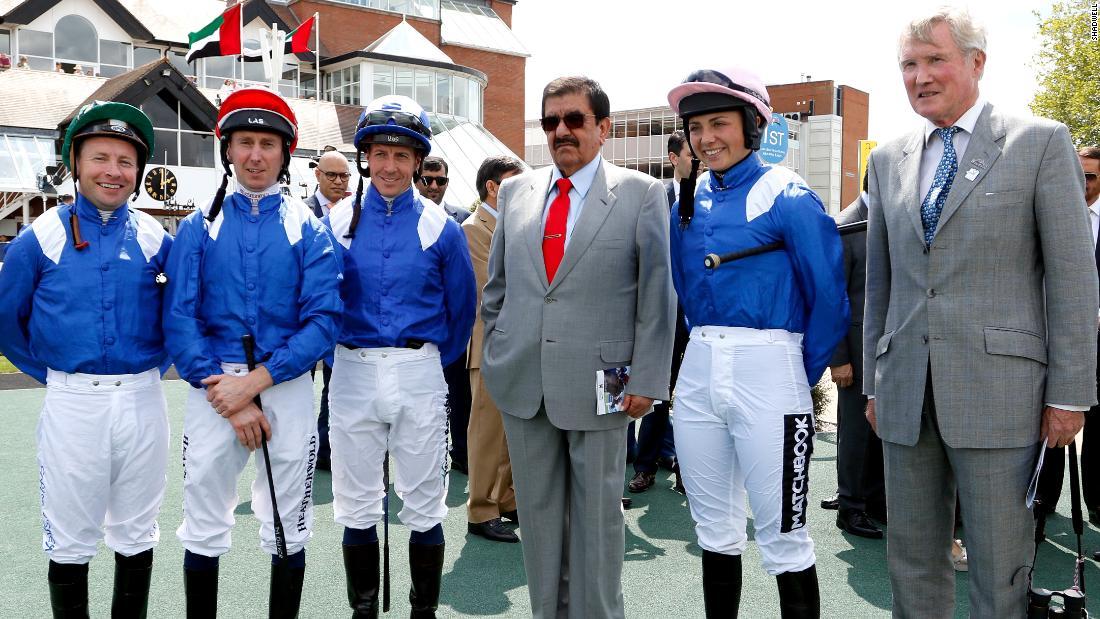 When the British countryside hosts Dubai royalty and Arabian racing