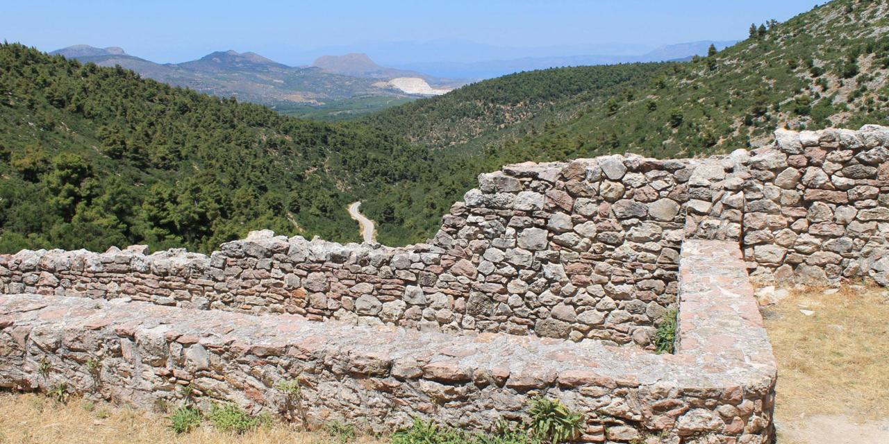 The discovery of the ancient Greek city of Tenea