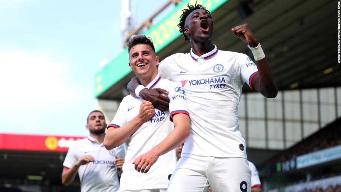 Chelsea young guns Abraham and Mount fire Lampard to first win as boss