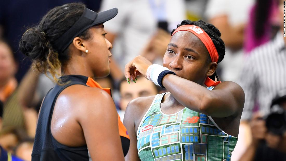 Serena Williams advances to US Open quarterfinals but injures her ankle