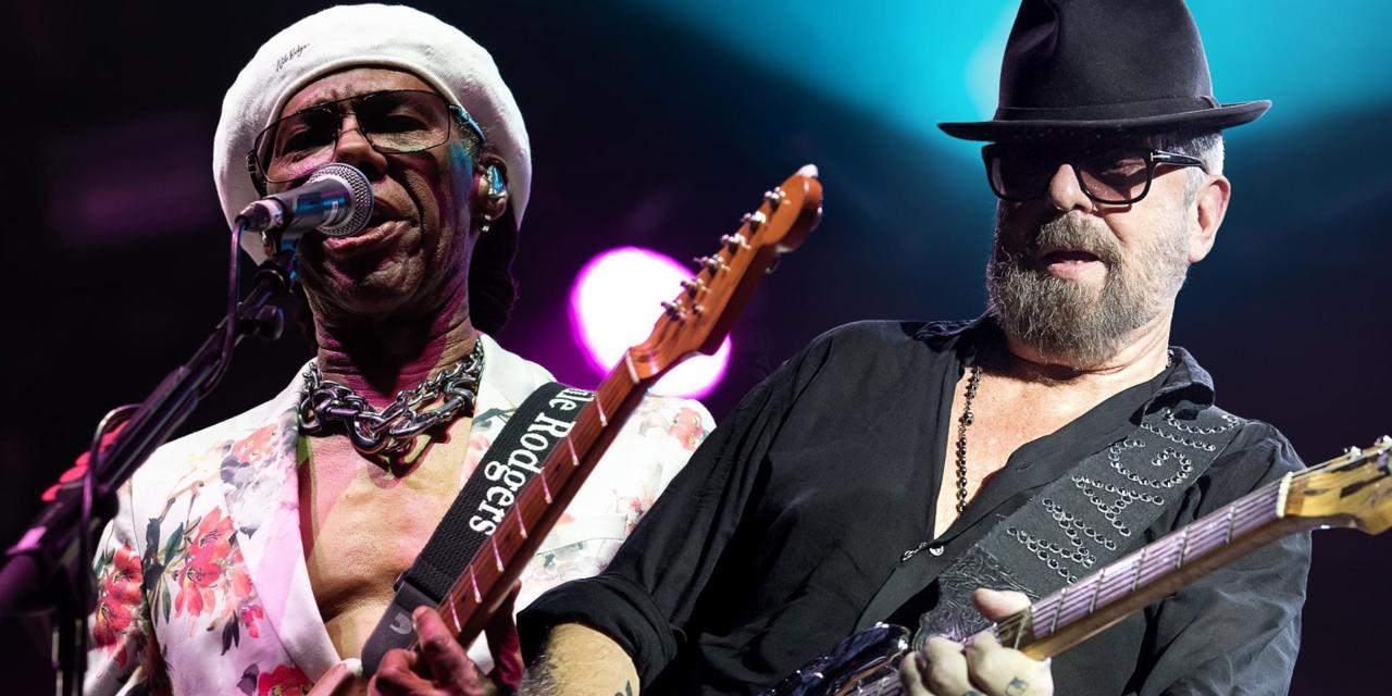 Dave Stewart and Nile Rodgers in conversation