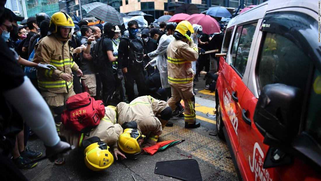 Hong Kong's violent protests show no sign of stopping. Some are deciding it's time to leave