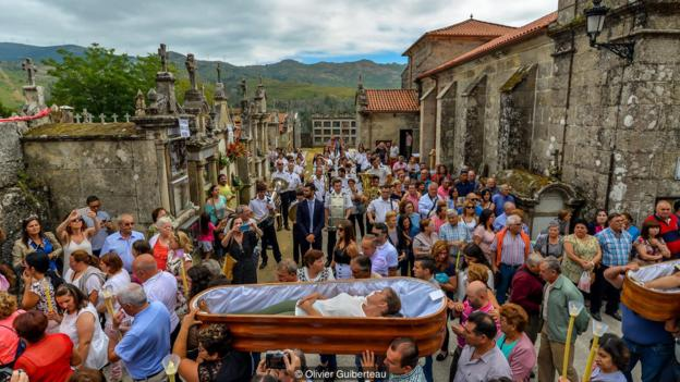 In Spain, a celebration of victory over death