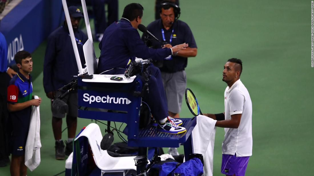 Nick Kyrgios labels the ATP 'pretty corrupt' after US Open win