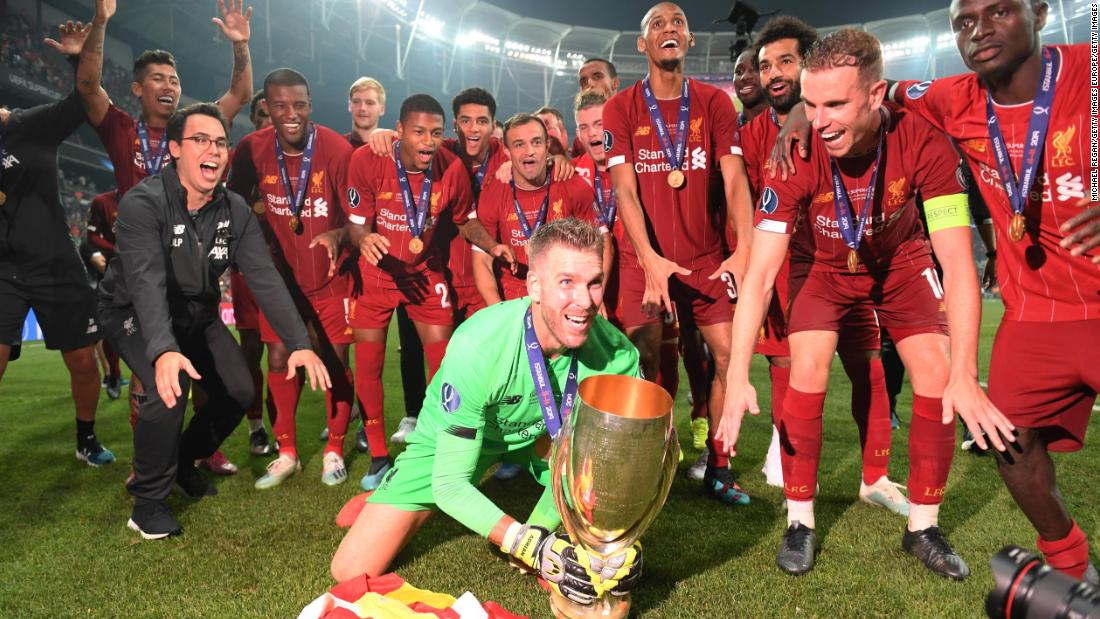 Liverpool defeats Chelsea on penalties to win European Super Cup