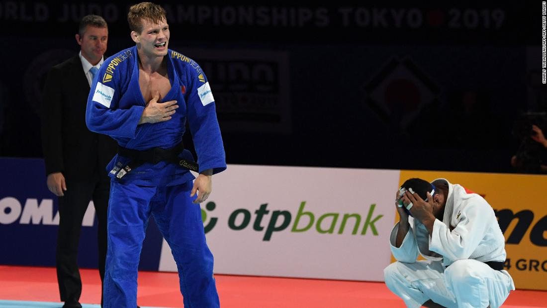 Iranian judoka Saeid Mollaei fears for safety after refusing to quit World Championships
