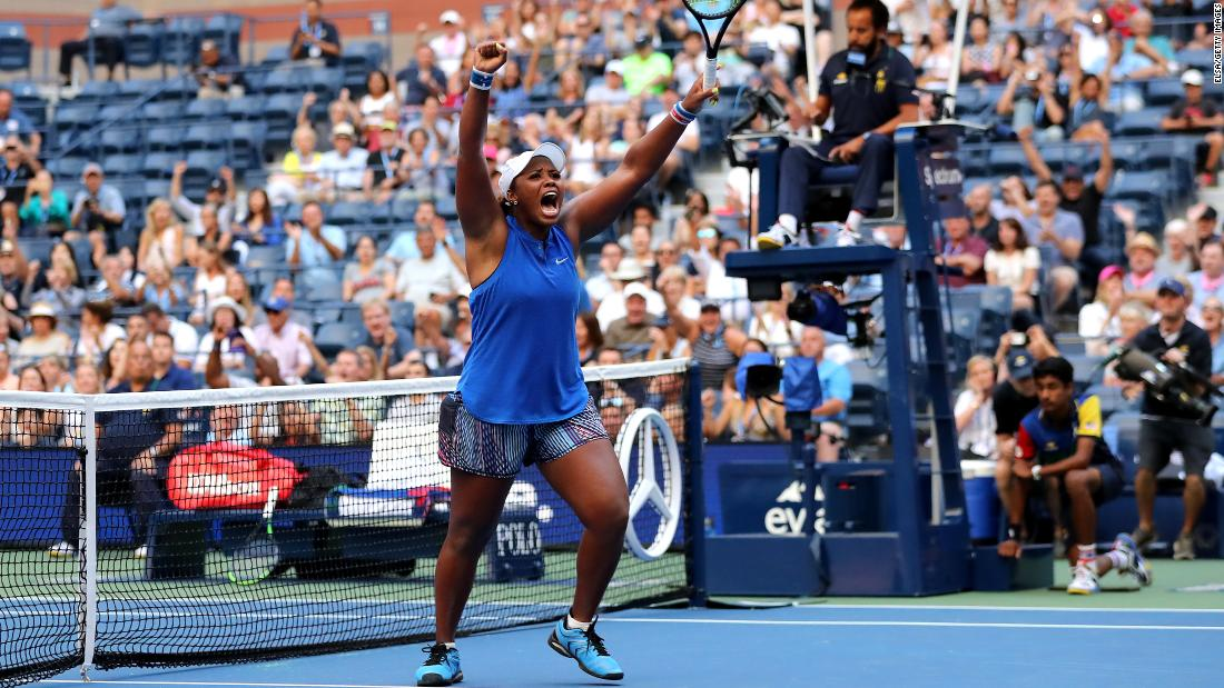 Meet the 23-year-old American having a seismic impact in the US Open