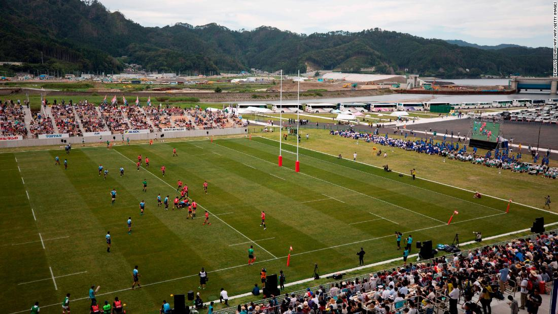 How the Rugby World Cup has brought hope to one Japanese City