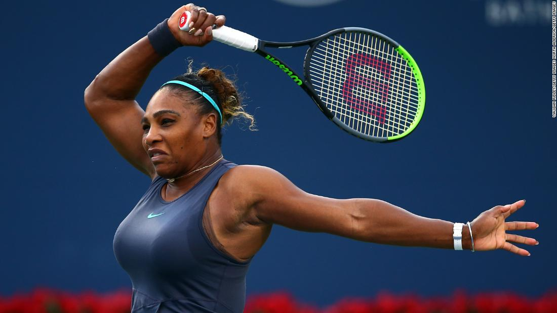 Serena Williams defeats Naomi Osaka in rematch of last year's controversial US Open final