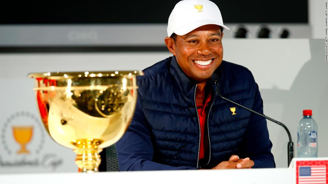 Tiger Woods feels the love as US team wins Presidents Cup