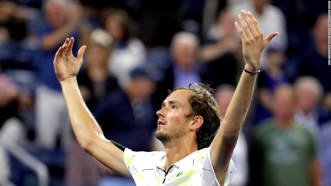 US Open villain Daniil Medvedev keeps on winning, reaches semifinals
