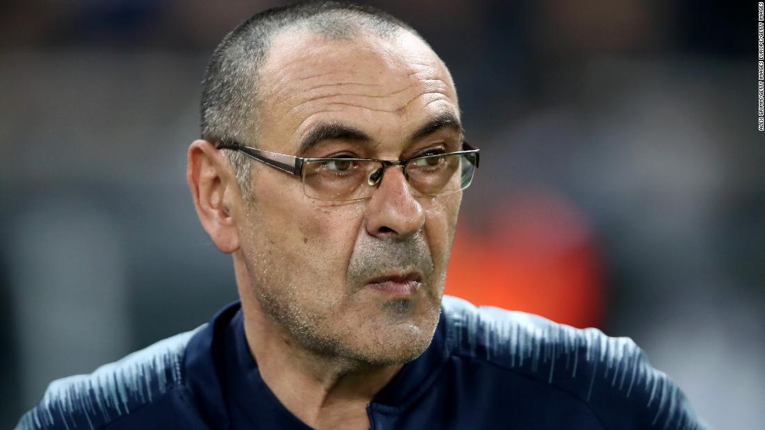 Maurizio Sarri leaves Chelsea to manage Italian champions Juventus