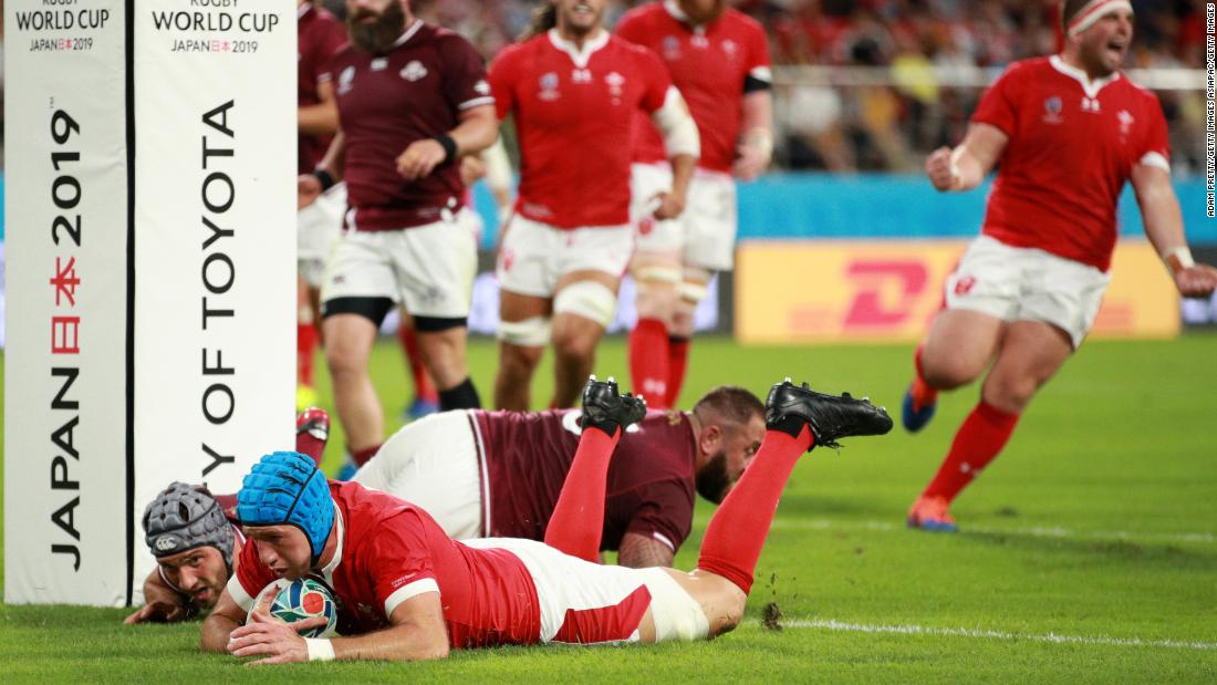 Rugby World Cup: Wales shakes off controversial preparation to beat Georgia
