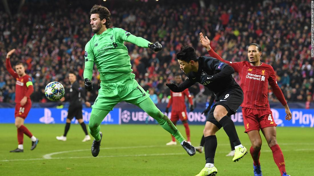 The 100 seconds that saved Liverpool's Champions League hopes