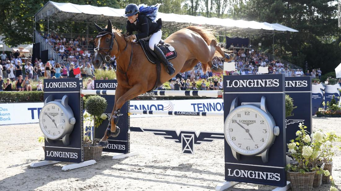 'The horse has to trust you:' Edwina Tops-Alexander's secrets of success