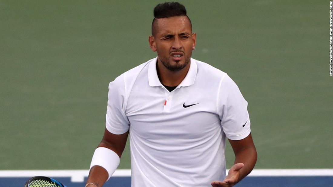 Nick Kyrgios faces possible suspension after expletive-laden outburst
