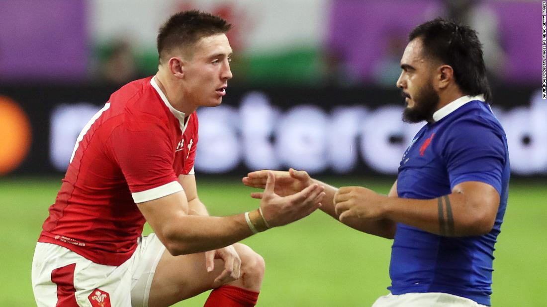 Red card costs France as Wales surges to Rugby World Cup semifinal