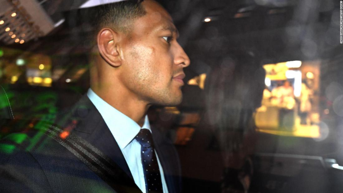 Israel Folau fights 'unlawful termination' of Australia rugby contract