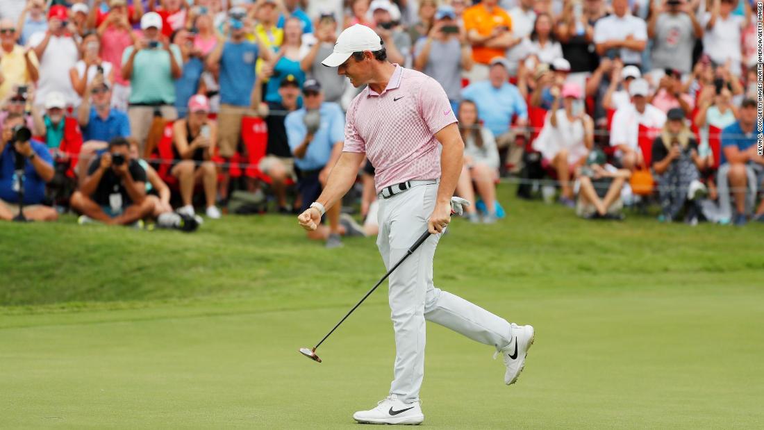 Rory McIlroy wins PGA Tour Championship and pockets $15m prize
