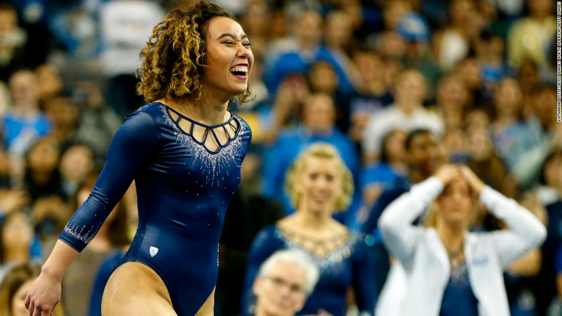 Katelyn Ohashi: 'I felt alone,' says gymnast after her perfect 10 went viral