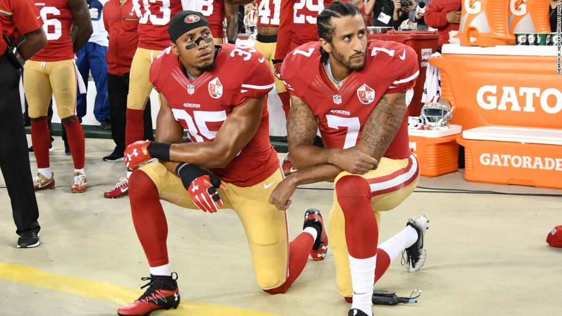 How National Anthem protests took Colin Kaepernick from star QB to unemployment to a bold Nike ad