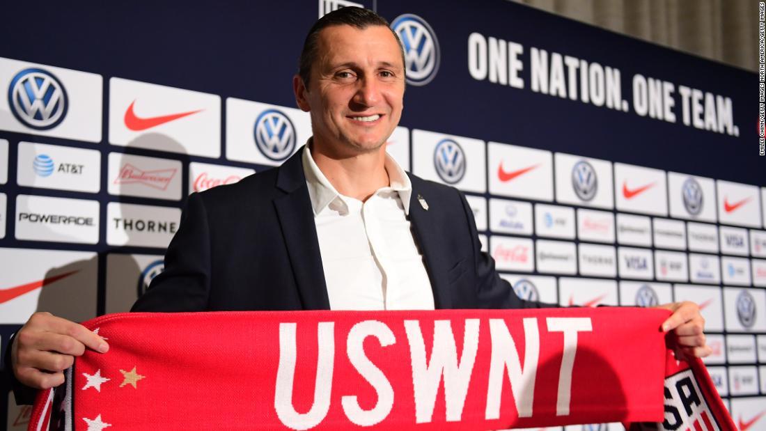 Vlatko Andonovski: New USWNT coach feels weight of expectation