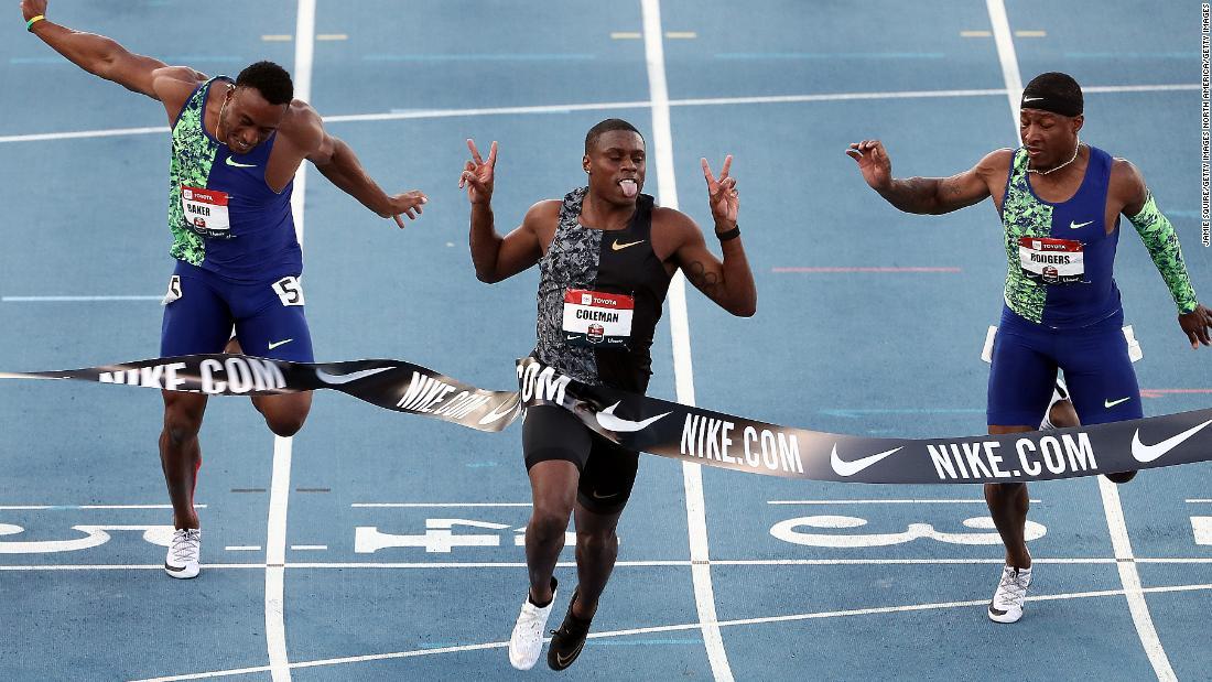 Christian Coleman: Athletes criticize 'loophole' after sprinter avoids ban