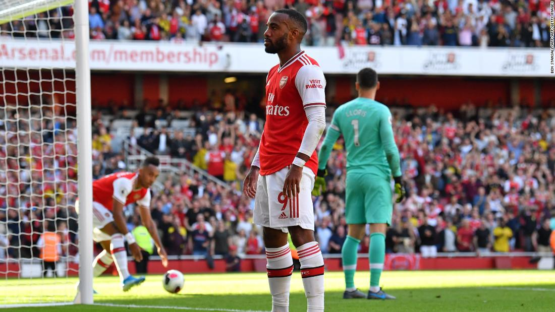 Arsenal comes from two goals down to earn draw against Tottenham