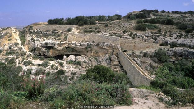The 'Great Wall' of Malta