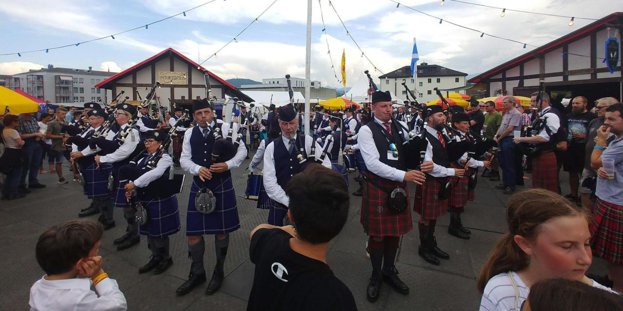 A Swiss village obsessed with Scotland