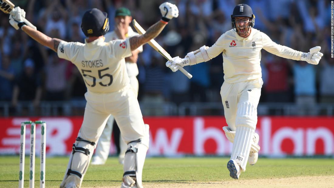Stokes steers England to sensational Test victory over Australia