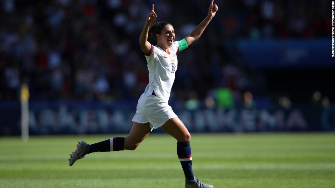 Soccer star Carli Lloyd received offers to kick in NFL preseason games
