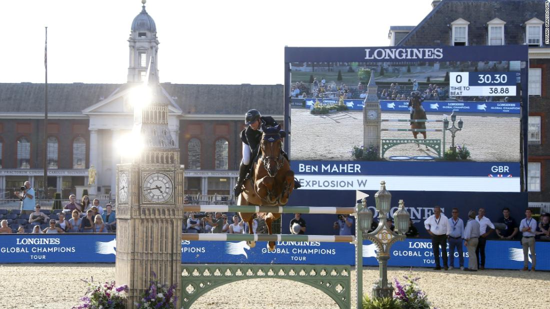 Ben Maher returns to winner's circle with double victory in London