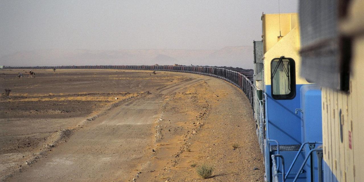 An exhilarating train journey across the Sahara