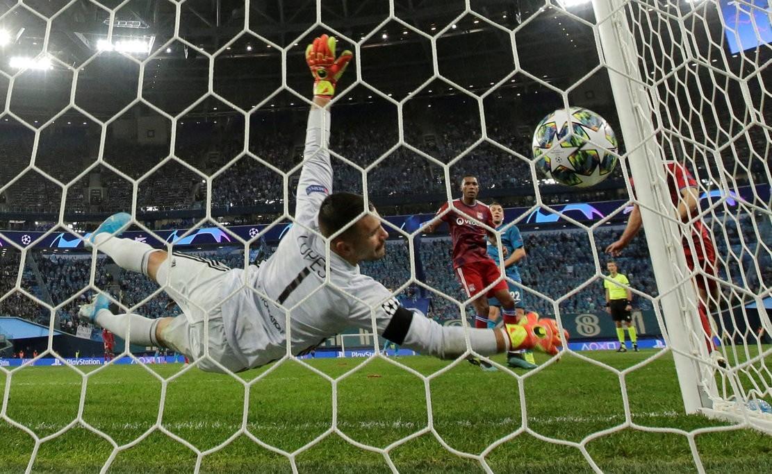 Dziuba surpasses Tikhonov's record in the Champions League